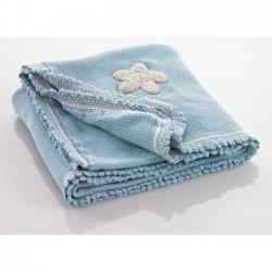 Pebbl Babydeken Blauw