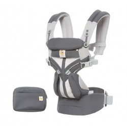 Ergobaby Omni 360 Cool Air Mesh Draagzak Carbon Grey