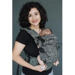 NEKO Switch Efes Paisley Hazel Dark Babycarrier