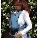 Storchenwiege Draagzak Turkoois - Baby Carrier