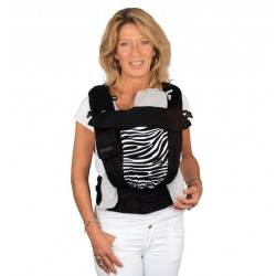 Bondolino Plus One Size Zebra Draagzak - limited edition