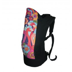 Rose and Rebellion Big Kid Carrier Flamingo Flamboyance