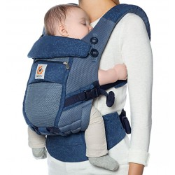Ergobaby draagzak Adapt Cool Air Mesh Blue Bloom