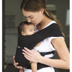 Ergobaby Embrace Pure Black draagzak