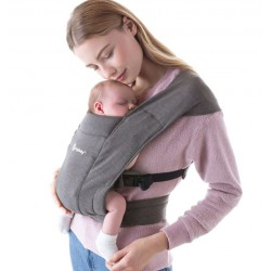 Ergobaby Embrace Heather Grey draagzak