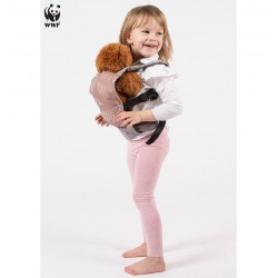 Isara Toy carrier Protect our planet - poppendraagzak