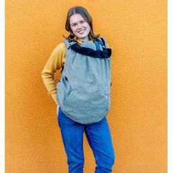 MaM Ultra Plus 2 in 1 Flex Draagcover - Heather Grijs-Zwart