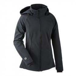 Mamalila Softshell Babywearing Jacket clickit - zwart
