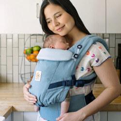 Ergobaby Adapt Heritage Blue - baby draagzak