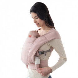 Ergobaby Embrace Blush Pink - baby draagzak