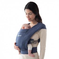 Ergobaby Embrace Soft Navy - baby draagzak