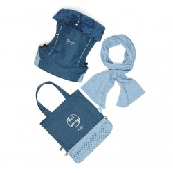 Snoozebaby KIss & Carry Indigo Blue