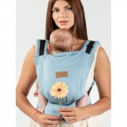 Isara Quick Full Buckle Azzurro babydraagzak