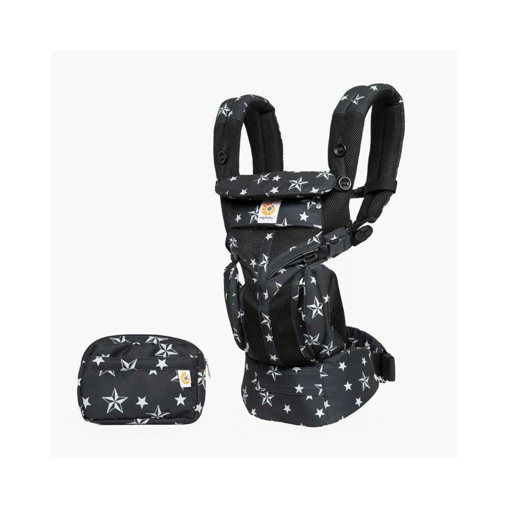 Ergobaby Omni 360 Cool Air Mesh Black Stars