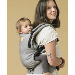 Tula Linen Free to Grow Ash - draagzak baby