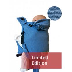 Storchenwiege BabyCarrier Soft Blue