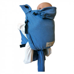 Storchenwiege BabyCarrier Soft Blue