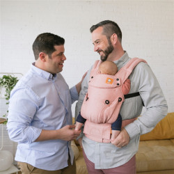 Tula Linnen Explore Mango - draagzak baby