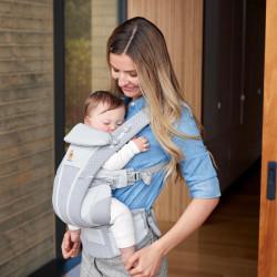 Ergobaby Omni Breeze Pearl Grey - baby draagzak