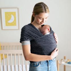 Ergobaby Aura Twinkle Grey baby draagdoek