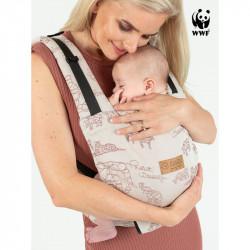 Isara Quick Full Buckle Wildlife Sandy babydraagzak