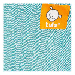 Tula Linen Free to Grow Reef - draagzak baby