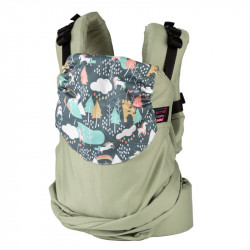 Easy Emeibaby Patinagreen Unicorn - baby draagzak