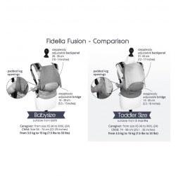 Fidella Fusion Paris - Charming Black - Baby size