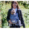 Storchenwiege Draagzak Zwart Wit - Baby Carrier